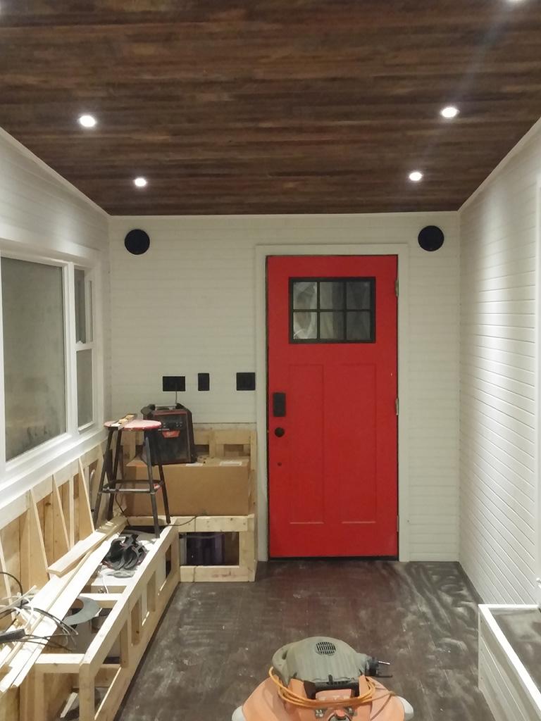 GM Tiny House living room lighting