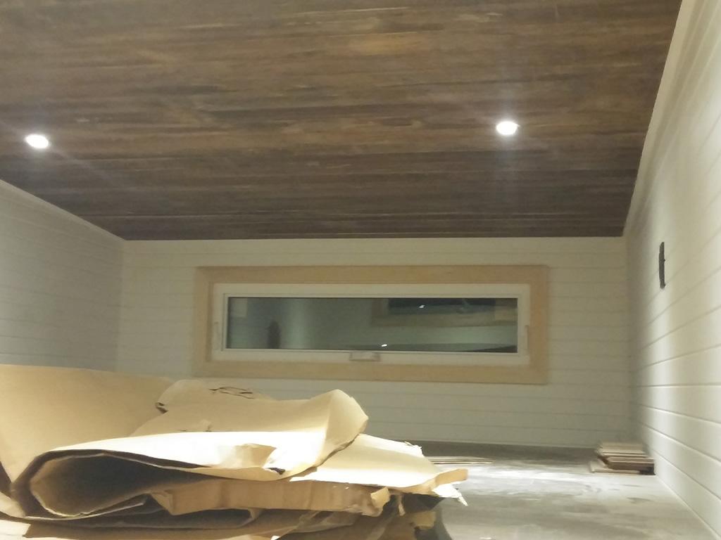 GM Tiny House lighting in the loft