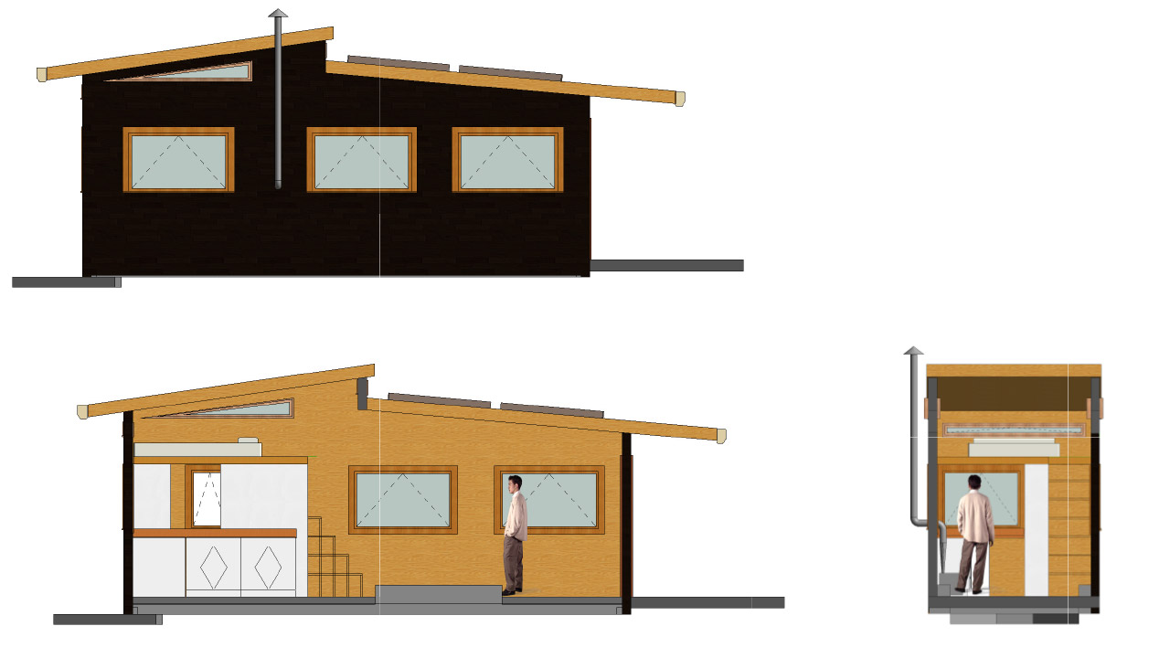 CAD drawings of the tiny home to date