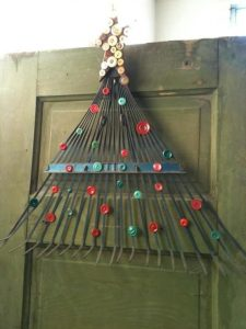 DIY recycled christmas tree