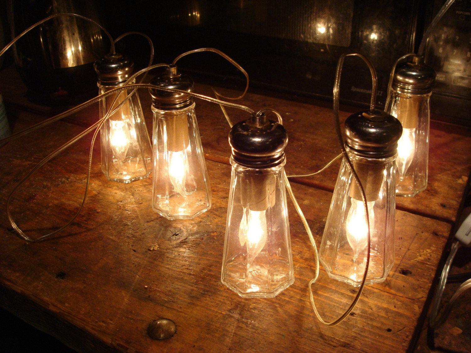 Salt Lamps Blowing Up : Upcycled Lamp Projects You can Make at Home