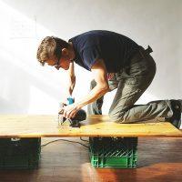 Sawing apart an Ikea Dresser